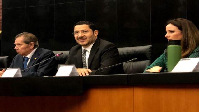 Foto Monreal quiere el poder absoluto del Senado, dice Martí Batres 20 agosto 2019