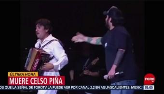 FOTO: Muere cantante Celso Piña 21 agosto 2019