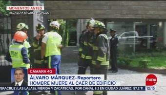 Muere hombre al caer de un edificio en Polanco, CDMX