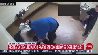 Foto: Mujer Denuncia Parto Condiciones Deplorables Cárcel Estados Unidos 30 Agosto 2019