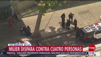 Foto: Mujer Dispara Personas Los Ángeles EU 22 Agosto 2019