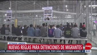 Foto: Nuevas Reglas Detención Migrantes Estados Unidos 21 Agosto 2019