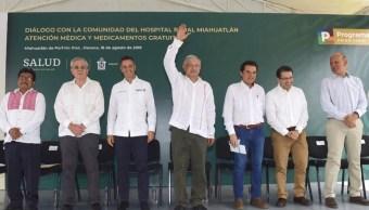 Foto: AMLLO asegura que gracias al combate a la corrupción se tendrán recursos suficientes, el 18 de agosto de 2019 (Gobierno de México)