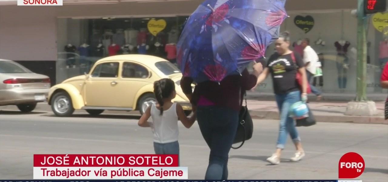 Foto: Ola Calor Altas Temperaturas Sonora 27 Agosto 2019