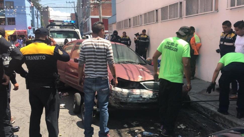 Foto: Algunos dueños han intentado a toda costa que los automóviles arranquen sin mucho éxito, 14 de agosto de 2019 (Noticieros Televisa)