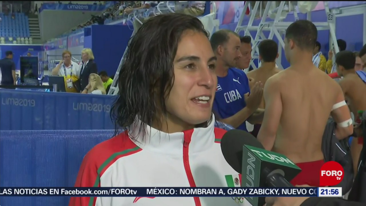 Foto: Paola Espinosa Gana Bronce Trampolín Juegos Panamericanos Lima 2 Agosto 2019