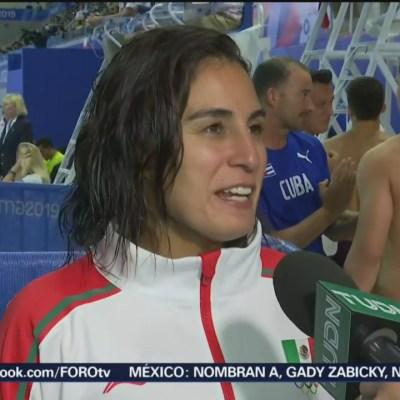 Paola Espinosa gana bronce en trampolín en Lima