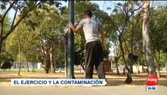 Pepenando la noticia: El ejercicio y la contaminación