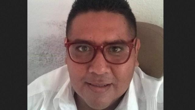 Edgar Alberto Nava López fue asesinado en una playa.