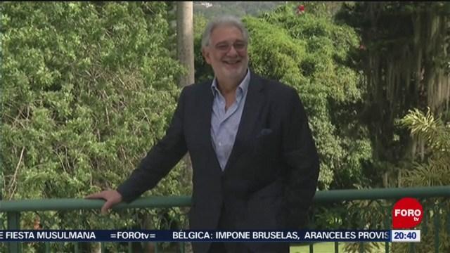 Foto: Plácido Domingo Acusado Acoso Sexual 13 Agosto 2019