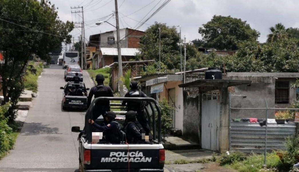 Policía de Michoacán