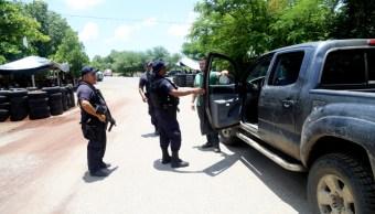 Presencia operativa de seguridad en el municipio de Tepalcatepec., 31 agosto 2019
