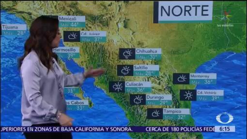 Prevén disminución gradual de lluvias en oriente, centro y sur de México