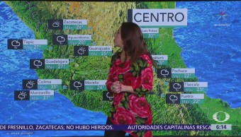 Prevén lluvias de diferente intensidad en la República Mexicana