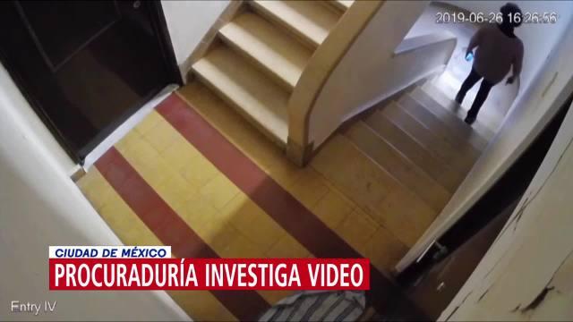 FOTO: Procuraduría investiga video sobre activista asesinada en la Condesa, 11 Agosto 2019