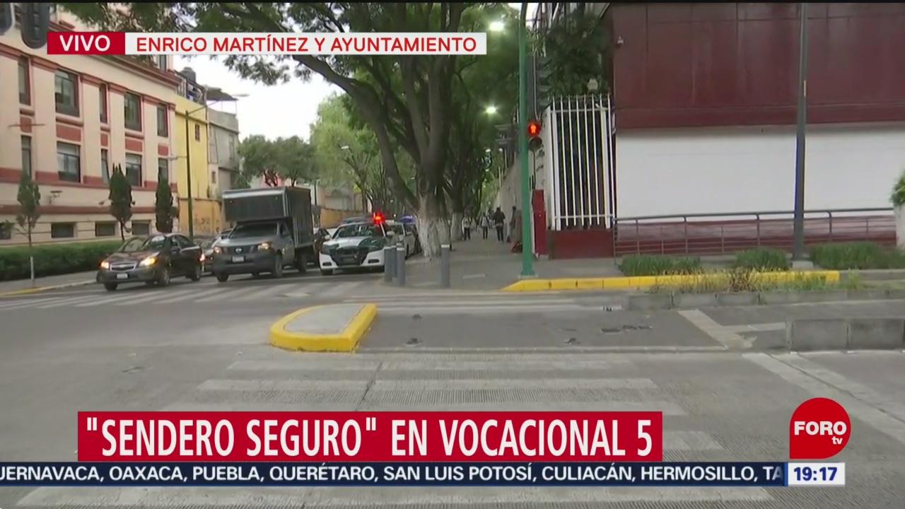 Foto: Programa 'Sendero Seguro' Escuelas CDMX 27 Agosto 2019