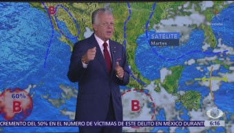 Pronostican lluvias intensas en cinco estados de México