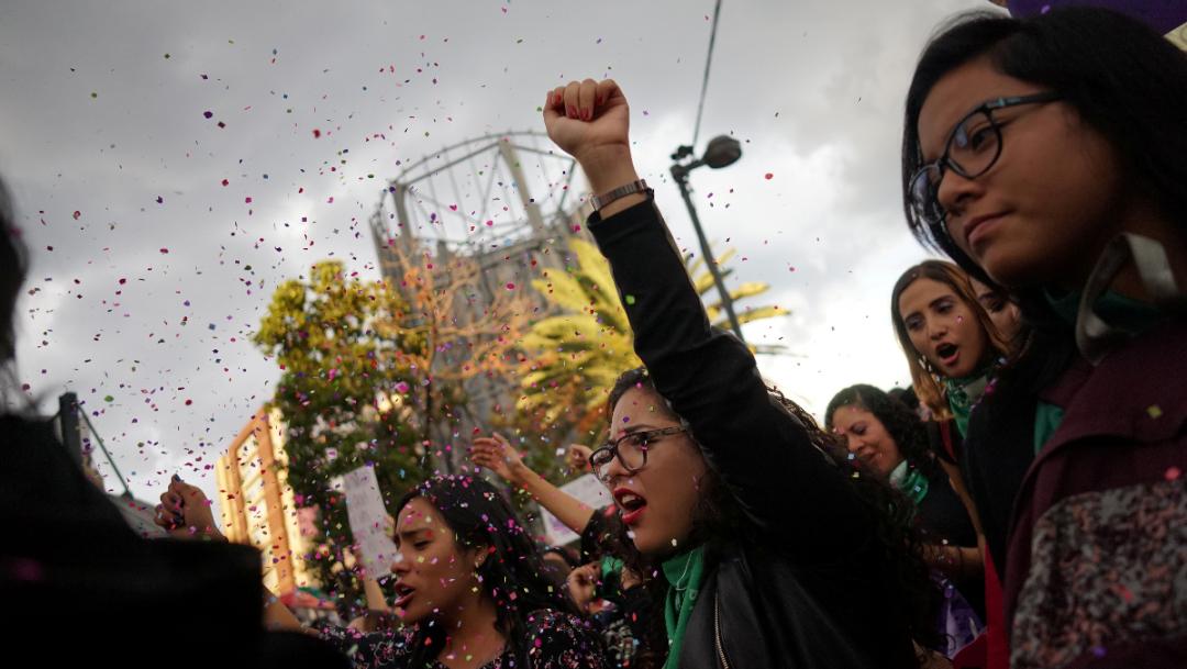 Foto:Protesta de mujeres en la Ciudad de México. 16 de agosto 2019.