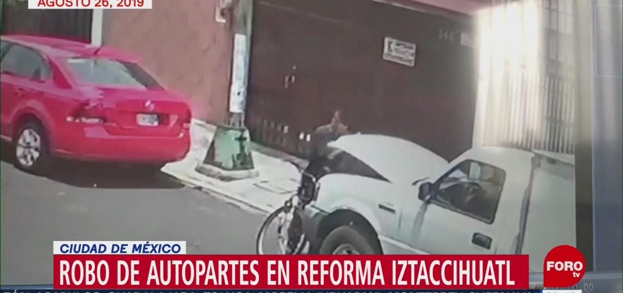 Foto: Robo Autopartes Colonia Reforma Iztaccíhuatl 26 Agosto 2019