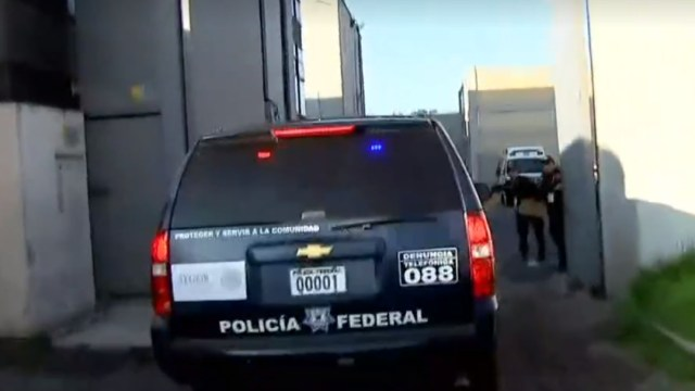 FOTO Rosario Robles ingresa al penal de Santa Martha Acatitla (FOROtv)