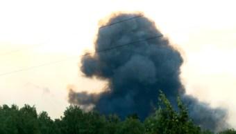 Foto: Explosión de arsenal en Siberia, 5 de agosto de 2019, Rusia