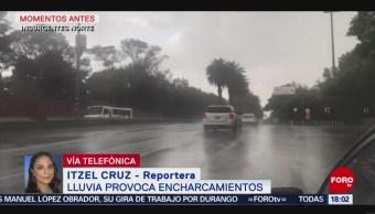 Foto: Se registra fuerte lluvia CDMX