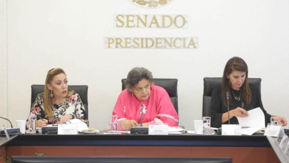 Foto: También en la sesión de la Comisión Permanente, dos nuevos embajadores rindieron protesta, 14 de agosto de 2019 (Twitter @senadomexicano)