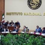 Sesión del INE