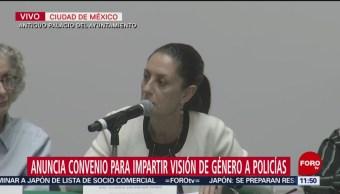 Sheinbaum participa en dialogo 'Cero Impunidad y Justicia Absoluta para las Mujeres'
