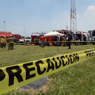 Explota vehículo por presunto 'huachicoleo' en Tabasco