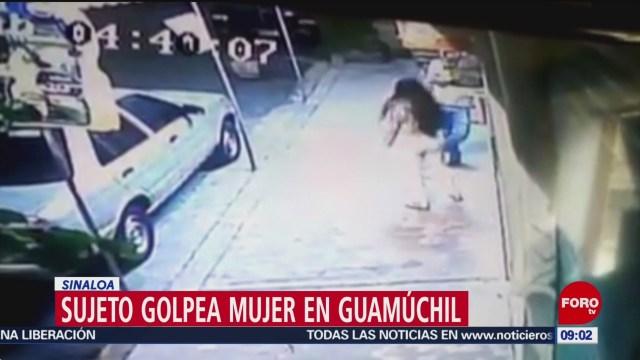 FOTO: Sujeto golpea mujer en Guamúchil, Sinaloa, 11 Agosto 2019