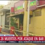 Foto: Suman 28 Muertos Ataque Bar Coatzacoalcos 28 Agosto 2019