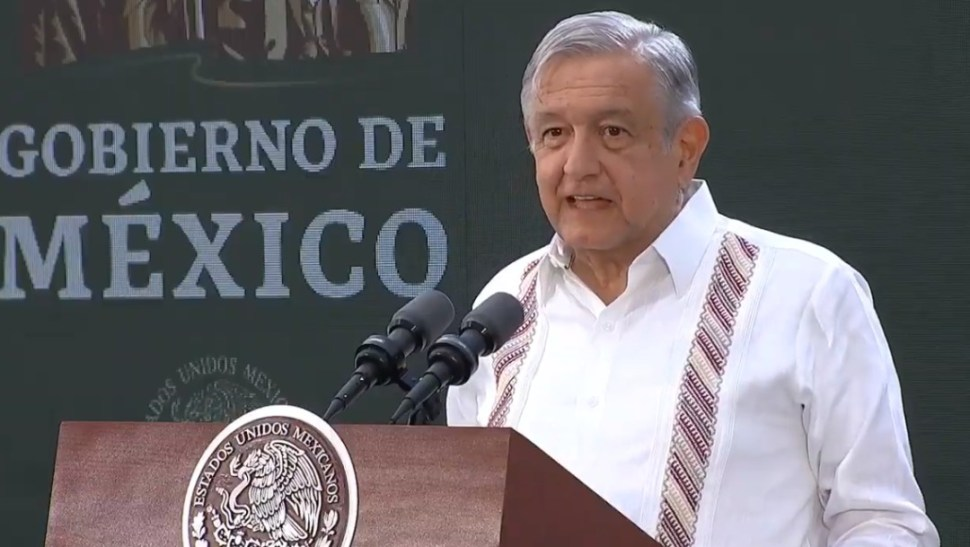 Foto: Andrés Manuel López Obrador, 23 de agosto de 2019, Tabasco, México