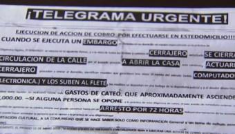 Foto: Un despacho fantasma y un 'telegrama urgente' son nuevas formas de estafar a la gente en México, 15 agosto 2109