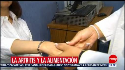 Tips en la alimentación de personas con artritis