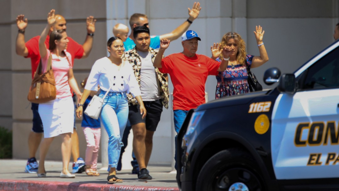 Foto: Dan a conocer videos del tiroteo registrado esta tarde en El Paso, Texas, 3 de agosto de 2019 (Reuters)