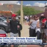 FOTO: Tiroteo en El Paso, Texas, le pega a México, 4 Agosto 2019
