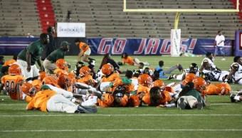 Foto: Diez heridos por tiroteo tras un partido de fútbol americano en una secundaria en Alabama, 31 agosto 2019