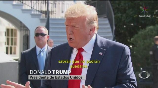 Foto: Trump Asegura Redadas Mississippi Fueron Éxito 9 Agosto 2019