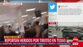 FOTO: Trump confirma varias víctimas fatales en tiroteo de El Paso, Texas, 3 AGOSTO 2019