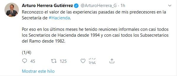 Arturo Herrera confirma reunión con Meade