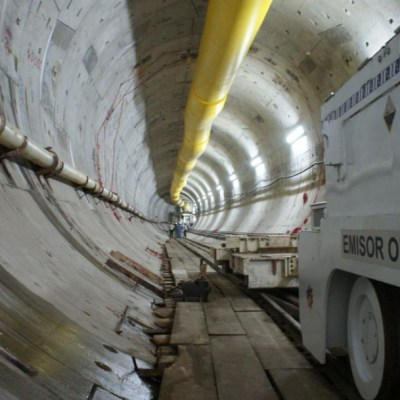Está terminado el Túnel Emisor Oriente: Conagua