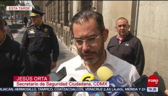FOTO: Víctima de la Merced pertenecía a extorsionadores: Orta, 24 Agosto 2019