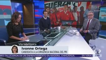 Video: Entrevista completa a Ivonne Ortega, candidata a la dirigencia nacional del PRI