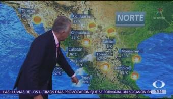 Despierta con Tiempo: Pronostican lluvias y una temperatura de 25 grados en la CDMX