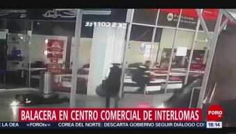 Foto: Video: Momento Asalto Plaza Espacio Interlomas 22 Agosto 2019