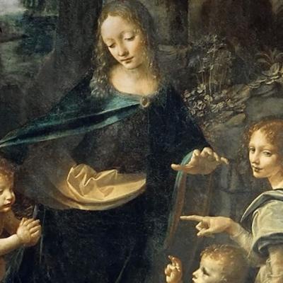 Revelan secreto detrás de la pintura 'La Virgen de las Rocas' de Leonardo da Vinci