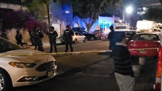 Foto: Autoridades de la PGJ-CDMX catean un inmueble en la colonia 20 de Noviembre, alcaldía de Venustiano Carranza, 7 septiembre 2019