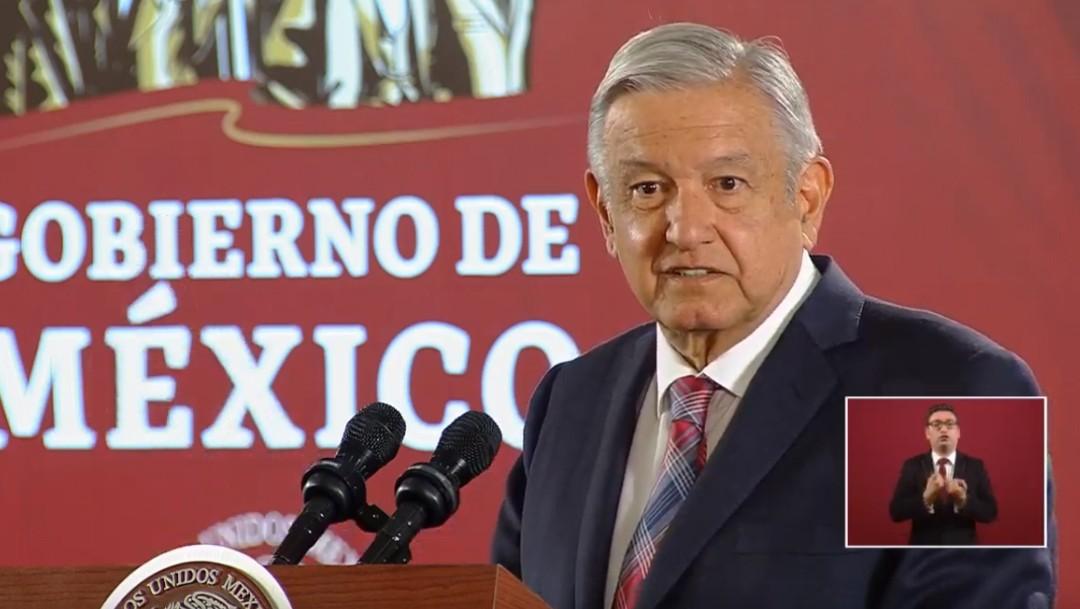 Foto: López Obrador en conferencia de prensa, 23 de septiembre de 2019, Ciudad de México