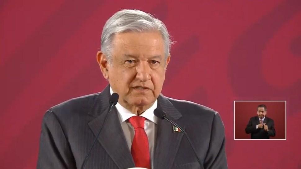 Foto: López Obrador en conferencia de prensa, 3 de septiembre de 2019, Ciudad de México